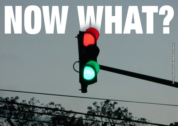 Traffic lights can be so confusing