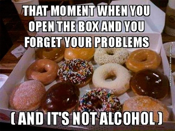 Donuts is always the solution