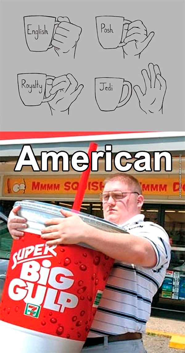 Drinking like an American