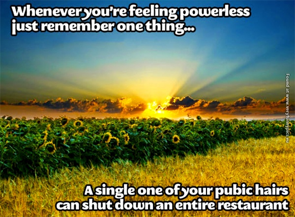You are not as powerless as you think