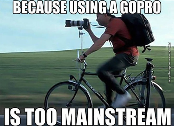 GoPro isn't for everybody