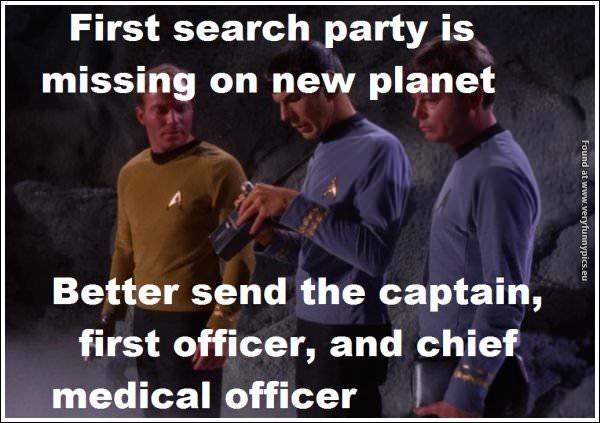Start Trek logic