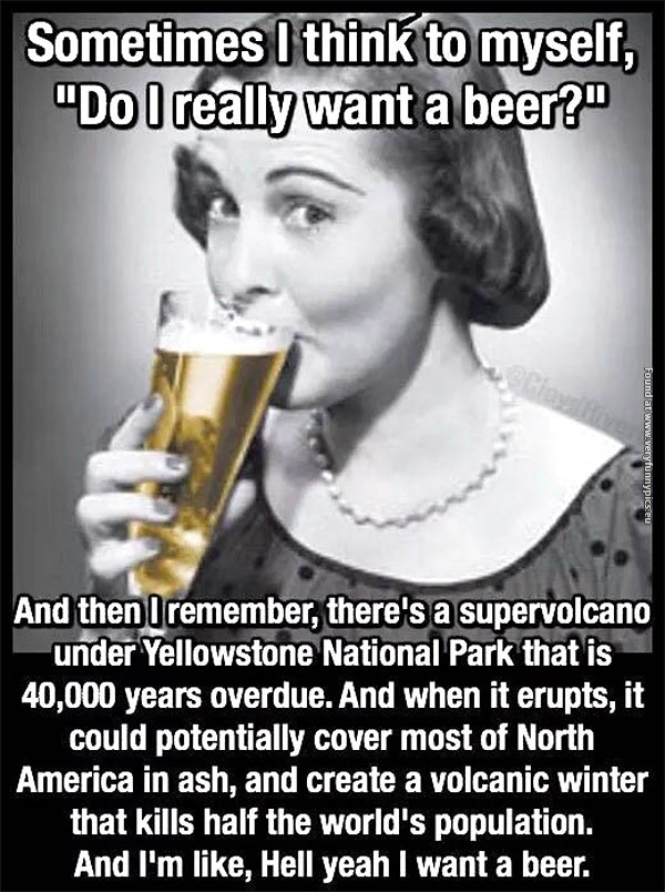 Here's why you should never say no to a beer