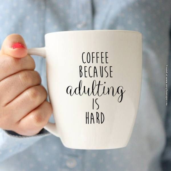 Why coffee tastes so good to an adult