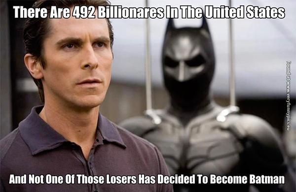 Billionares are losers