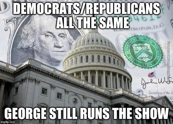 George still runs the show