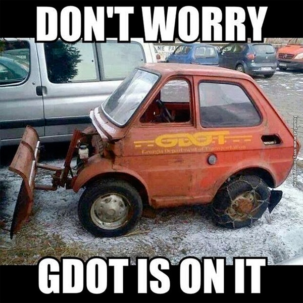 Have no fear when GDOT is near!