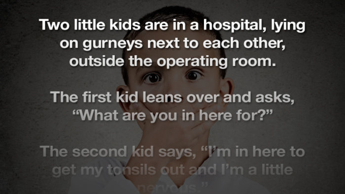 One of these kids are in deeper trouble than the other…