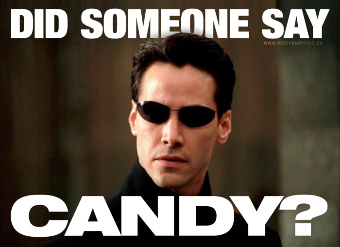 Unfortunately, candy tastes best the days when you're trying to eat healthy