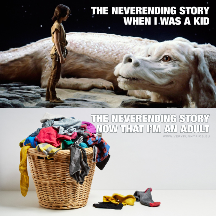 You probably saw The Neverending Story in a slightly different way when you were a child