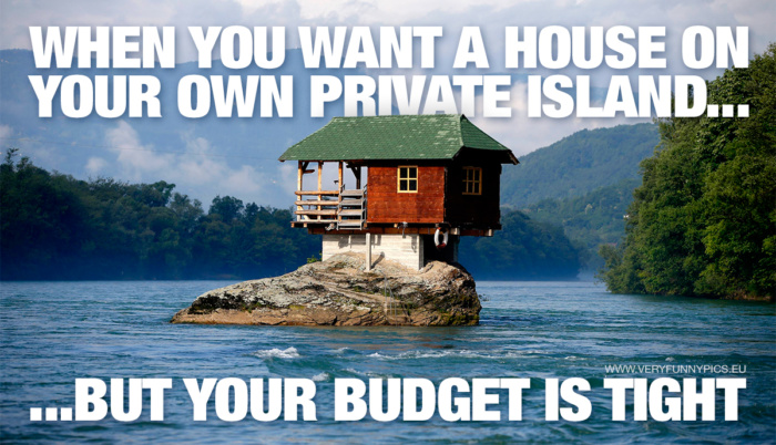 A small budget doesn't necessarily have to stop you!