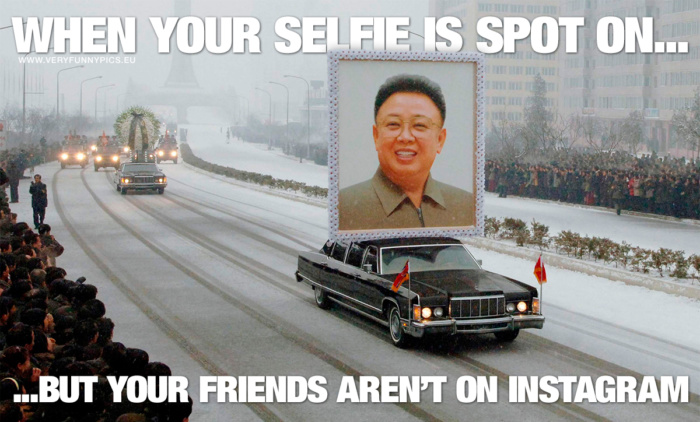 If you take the perfect selfie you'd probably want to show it to someone