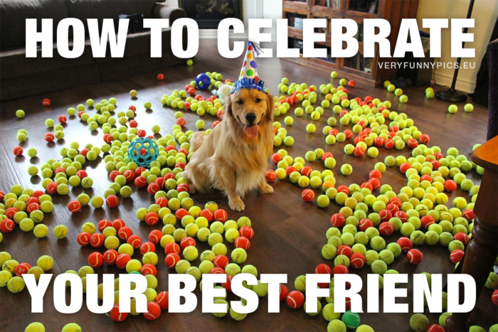 Some friends are worth to be celebrated