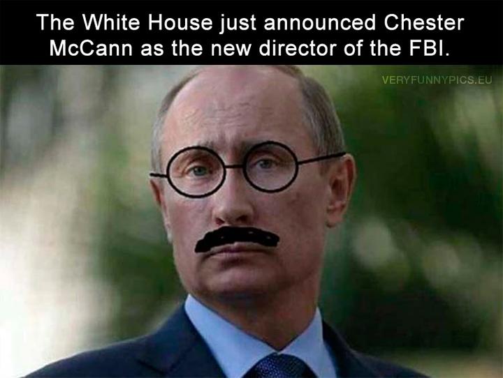 Vladimir Putin - New director of the FBI