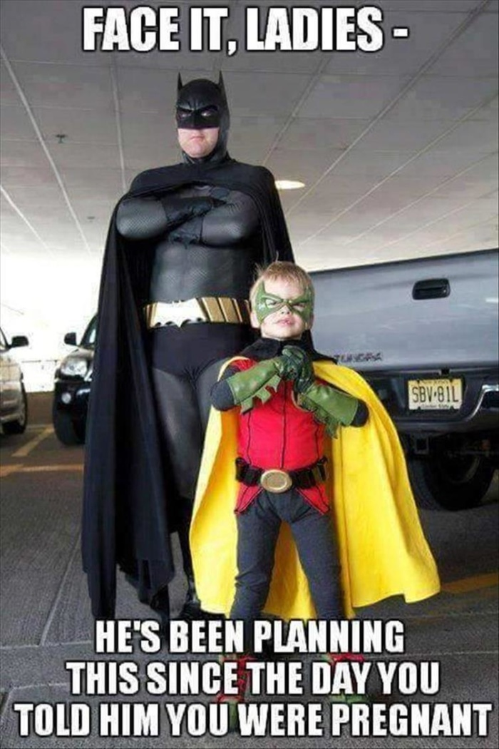 Every dad wants a Robin