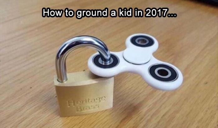 The easy way to ground kids nowadays