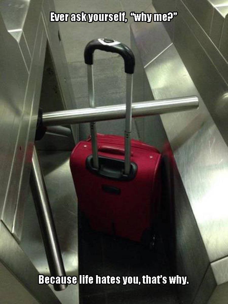 Stuck bag