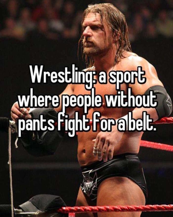 The logic of wrestling