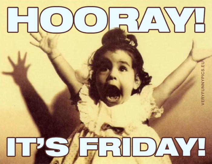 Best weekday of the week