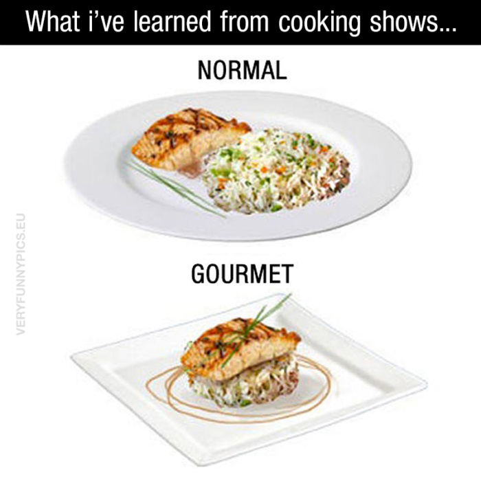 Cooking shows are sooo educational…