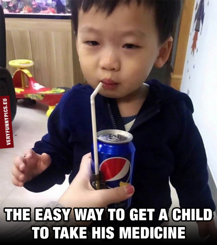 As a parent you sometimes have to improvise