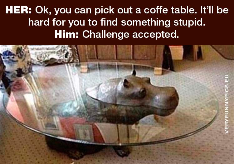 Hippo as coffe table