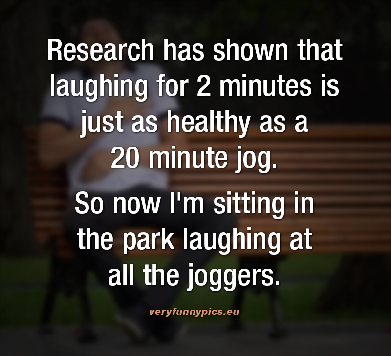 Funny quote about jogging