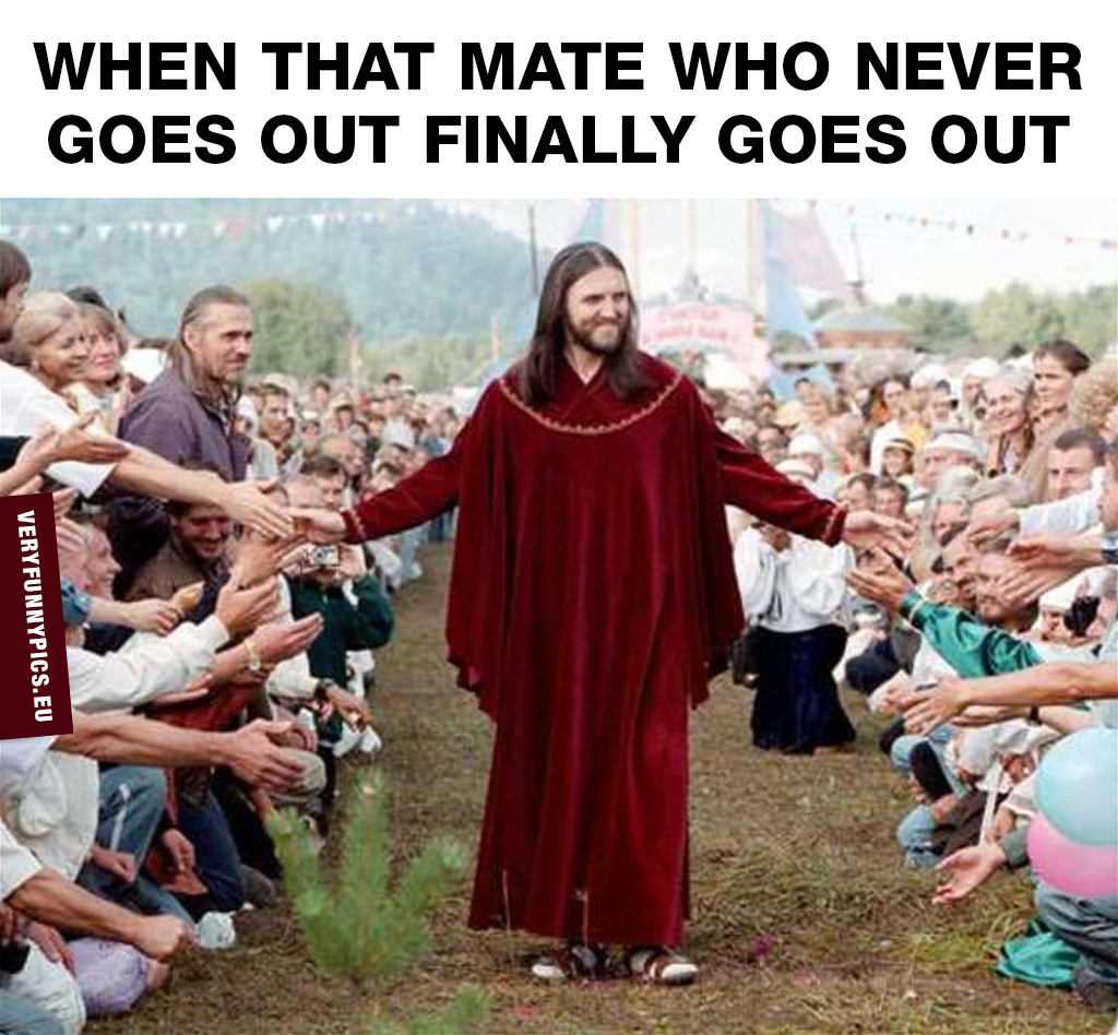 Man looking like Jesus