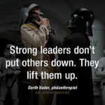 Words of wisdom from Darth Vader