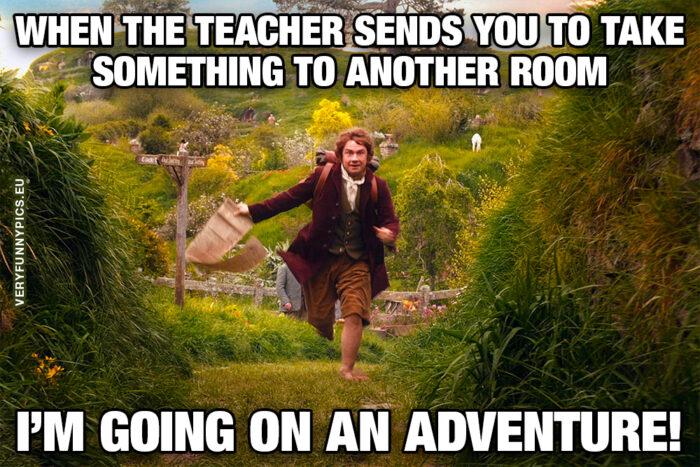 School adventure