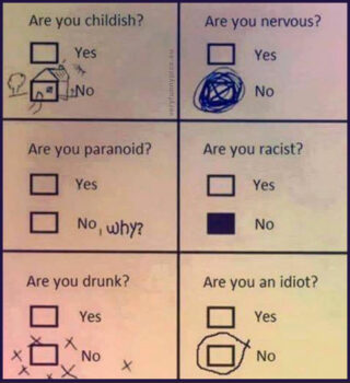 A clever way to fill out a form