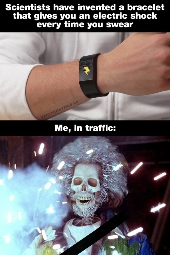 I probably wouldn't survive this bracelet…
