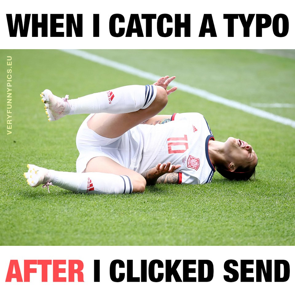 Soccer player rolling in the grass