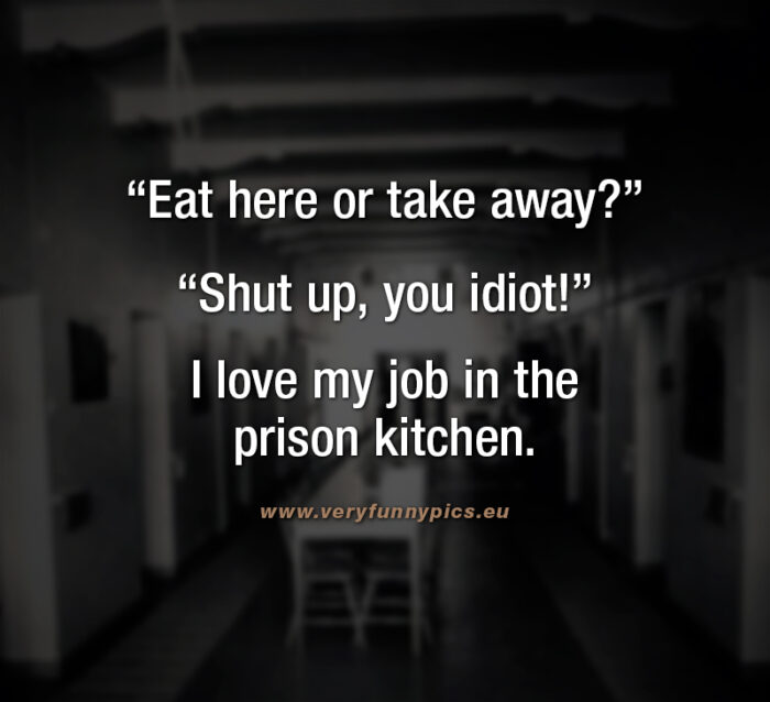 Every job has its advantages
