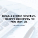 A credible pension calculation