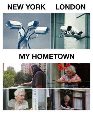 Surveillance methods varies