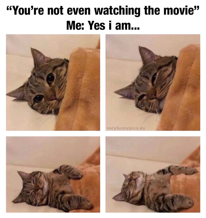 Me, in front of the TV