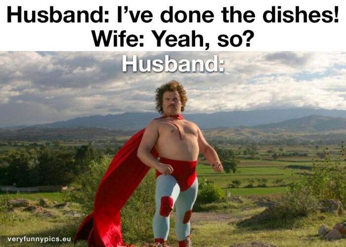 The household superhero